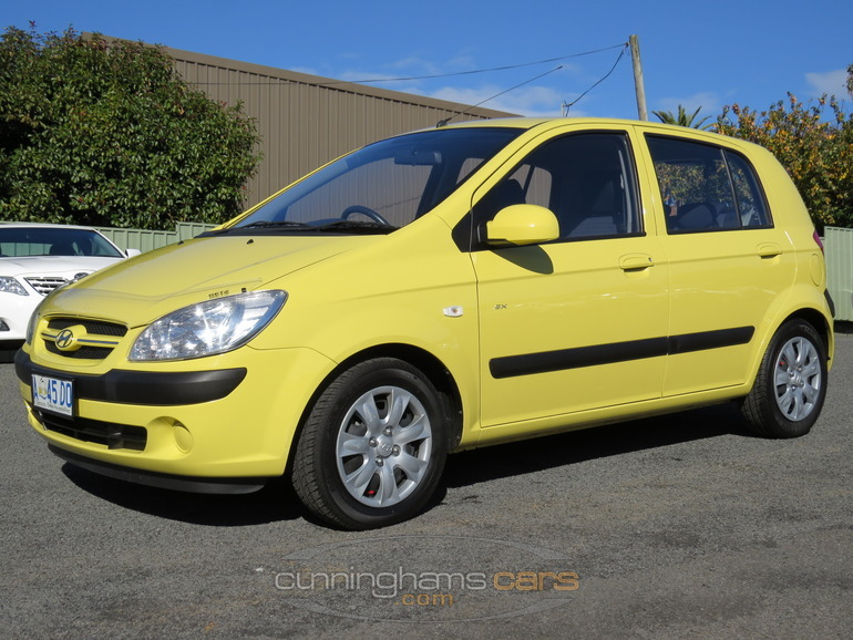 2008 hyundai getz sx hatch in Launceston, TAS