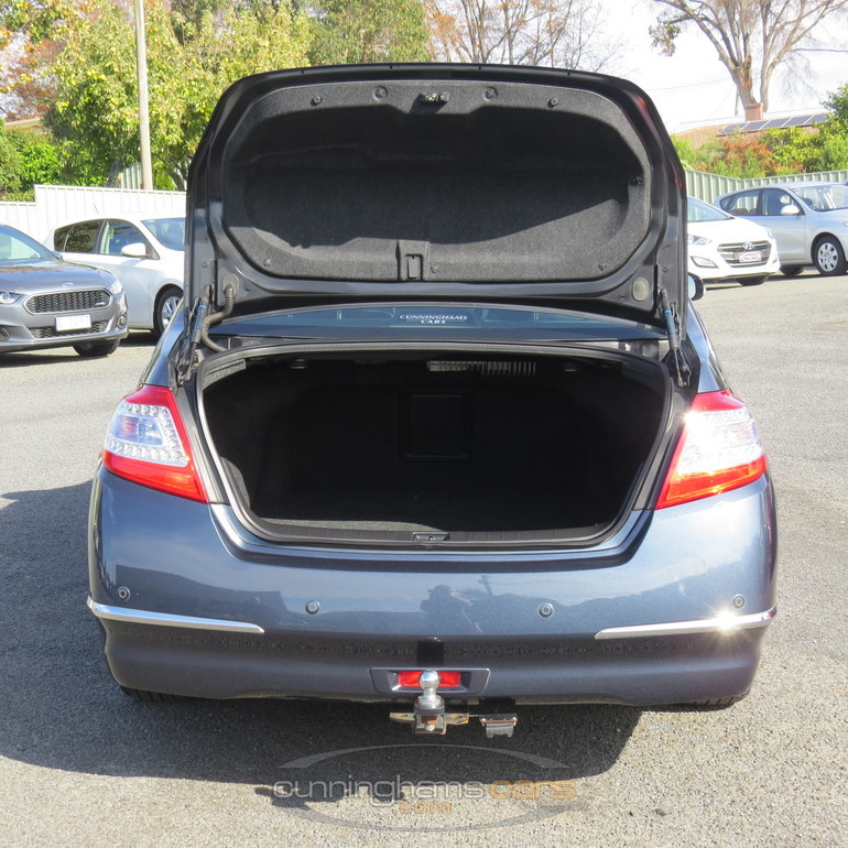 rear boot area